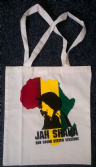 Jah Shaka Africa Flag Shopper Tote Bag